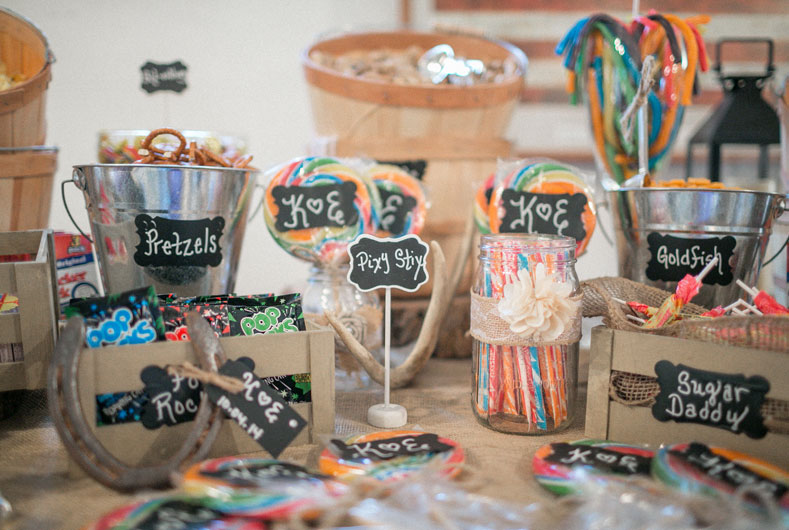 wedding specialties candy bar
